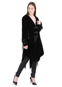 Jordash Jacket Velvet Black ML