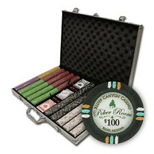 New 1000 Bluff Canyon 13.5g Clay Poker Chips Set w/ Aluminum Case - Pick Chips!