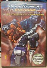 Transformers Energon Vol. 1 La Battaglia Per L'Energon DVD PARAMOUNT