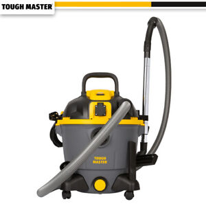 Industrial Vacuum Cleaner Wet And Dry with 240v Socket - 35L