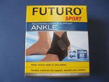 Futuro Sport Adjustable Ankle Support Brace Left or Right injured sprain 09037