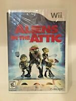 New Aliens In The Attic Nintendo WII Factory Sealed Playlogic