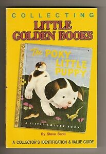 BOOK; COLLECTING LITTLE GOLDEN BOOKS BY STEVE SANTI , EXC. SHAPE