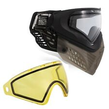 Virtue VIO Extend II Paintball Goggle and Lens Bundle - Black Clear / Yellow