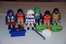 Playmobil grupo  polar ny) polo nieve hielo explorador exploracion dinosaurio