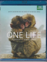 ONE LIFE BBC EARTH SERIES BLU-RAY NARRATED BY DANIEL CRAIG SPECIAL EDITION