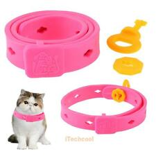 Pet Cat Kitten Adjustable Anti Flea Tick Mite Mosquito Repellent Pest Control
