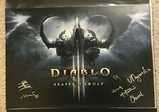 Blizzcon 2013 Exclusive Diablo III Reaper of Souls Poster SIGNED