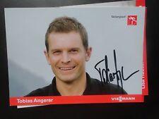 Handsignierte AK Autogrammkarte   TOBIAS ANGERER   -  Skilanglauf -  2014