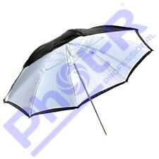 """Phot-R Professional 43""""/109cm 2-in-1 Black/White Studio Collapsible Umbrella"""
