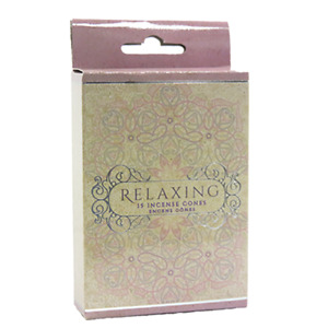 Relaxing Incense Cones Home Fragrances Aroma Scent Relaxing Holder Plate Insence