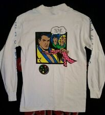 MENS MAUI AND SONS LONG SLEEVE WHITE T-SHIRT SIZE M