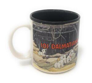 Rare Disney's 101 Dalmatians Mug, Exclusively For The Walt Disney Company 1968
