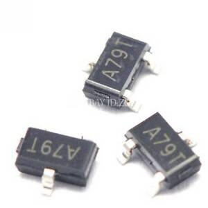 20PCS AO3407 A79T 4.3A/30V SOT-23 MOS P-Channel MOSFET transistor