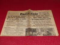 [PRESSE WW2 AVANT GUERRE] PARIS-SOIR #4328 10 AOUT 1935 Cocteau Colette