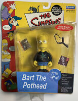 Vintage 2000 The Simpsons Springfield Interactive Figure Bart The Pothead RARE!