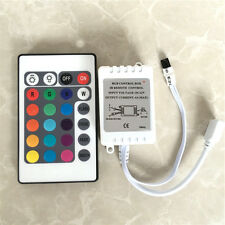 24 Key IR Remote Controller RGB Control Box DC12V For LED 3528/5050 Strip Light