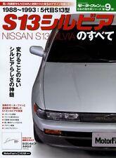 [BOOK] All About Nissan S13 Silvia Art Force 180SX SR20 AUTECH RS13 RPS13 Japan