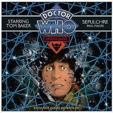 Doctor Who Demon Quest 5: Sepulchre by Paul Magrs (CD-Audio, 2010)