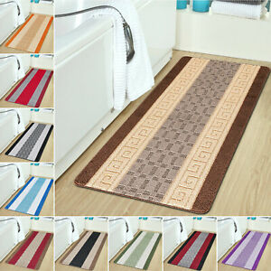 Non Slip Long Runner Rug Extra Large Small Carpet Mats Bath Bathroom Floor Mat