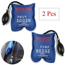 2Pcs Air wedge Pump inflatable shim bag car Home Door Window leveling Hand Tools