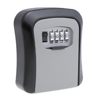 Alloy Key Box Cabinet Safe Keys Holder Storage Password Security Lock Case 4