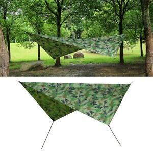 Waterproof British Basha Tent Emergency Shelter Tent Tarpaulin Tarp Army U K