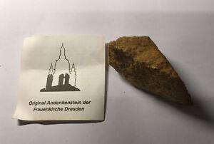 Original Andenkenstein Frauenkirche Dresden