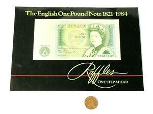 1984 Uncirculated Raffles English One Pound £1 Paper Banknote DW33 135286