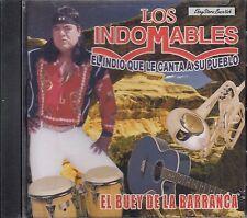 Los Indomables El Buey de La Barranca El Indio que Canta CD New Sealed