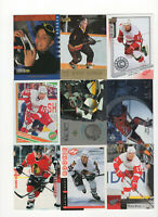 49 count lot mixed Dan Cleary CARDS with 9 rookie cards Detroit Red Wings RW!