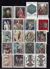 France. Art / Painting. Famous painters. Lot 20. (BI#15)