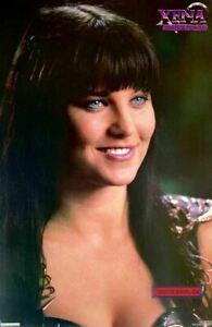 Xena Warrior Princess Lucy Lawless Portrait 1997 Vintage Poster 23 x 34.5
