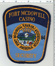 Fort McDowell Yavapai Casino Security 1st Issue Uniform Take-Off Patch (Arizona)