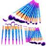 20pc Unicorn Makeup Brushes Set Foundation Blush Face Powder Eyeshadow Lip Brush
