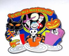LE Disney Pin✿Nightmare Before Christmas 13 Treats Wish you Scary Christmas RARE