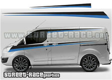 FORD TRANSIT CUSTOM 015 Racing Stripes Graphique Stickers Autocollants