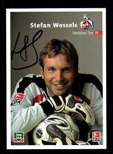 Stefan Wessels Autogrammkarte 1 FC Köln 2003-04 2. Karte Orig Sign+A 128419