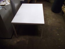 Vintage,Retro Sturdy  small formica Table ( WHITE )
