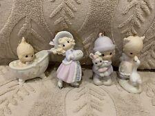 Precious Moments Christmas Ornaments ( Lot of 4 )