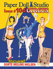 """Paper Doll Studio Magazine Issue #104 """"The Circus"""" from 2013"""