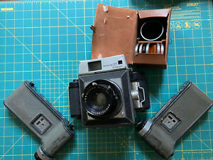 Vintage Mamiya 23 Standard Medium Format Camera, 3 Film Magazines, Filters