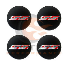 2016-2018 Camaro Genuine GM Black Center Cap Red SS Logo Set Of 4 19351758