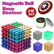 5mm 216pcs Magnet Balls Magic Beads 3D Puzzle Sphere Magnetic Magnetkugeln