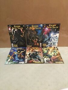 Zenescope Grimm Fairy Tales Comic Lot Issues 19-24 All Cover D