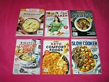 8 Food COOKING Recipes MAGAZINEs 2020 2021 BRAND NEW Free USA Shipping