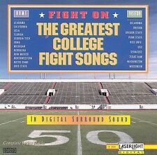 The All American Marching Band Fight On: The Greatest College Fight Songs CD