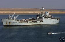 Royal Navy RFA Sir Galahad UMM Qasr Iraq 2003 12x8 Inch Reprint Photo