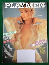 PLAYMEN Gennaio n.1 1983 (ITA) Janet Agren Steven Spielberg Milo Manara