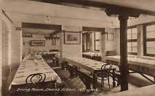 Islington. Owen's School Dining Room. Card by P.A. Buchanan & Co.